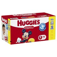 HUGGIES Snug & Dry Diapers Giant Pack