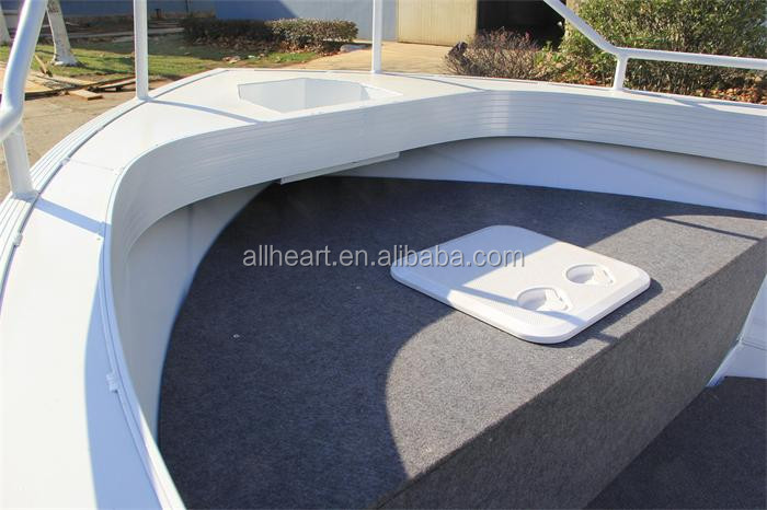 China Manufacturer 4.5M Hunt Aluminum Boat For Fishing