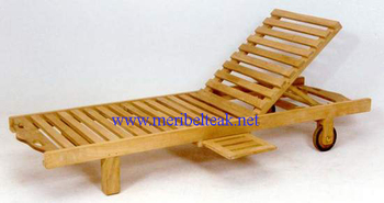 Indonesia Furniture-WAVE LOUNGER-Teak Furniture