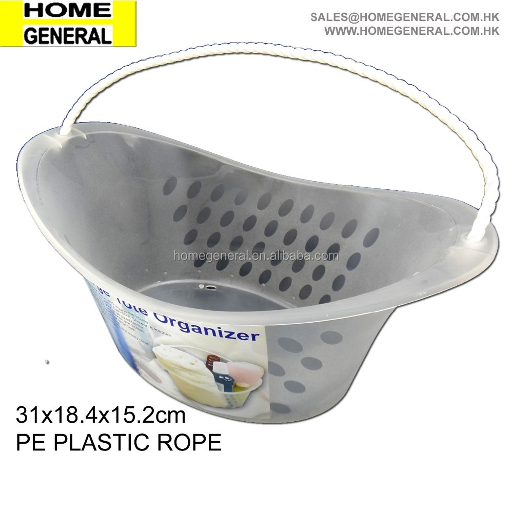 plastic beach bucket with rope handle buy plastic small beach buckets cheap plastic bucket. Black Bedroom Furniture Sets. Home Design Ideas