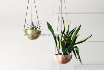 Brass Hanging Planter,Decorative Planter,Indoor Hanging Planter - Buy  Indoor Large Decorative Planters,Indoor Hanging Planters,Garden Head  Planter