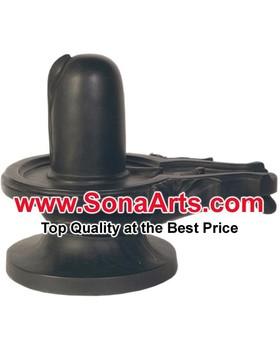 Black Shivling Statue Black Shiva Lingam Buy Black