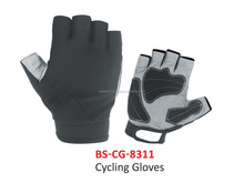 Grey & Black Color Professional Cycle Gloves