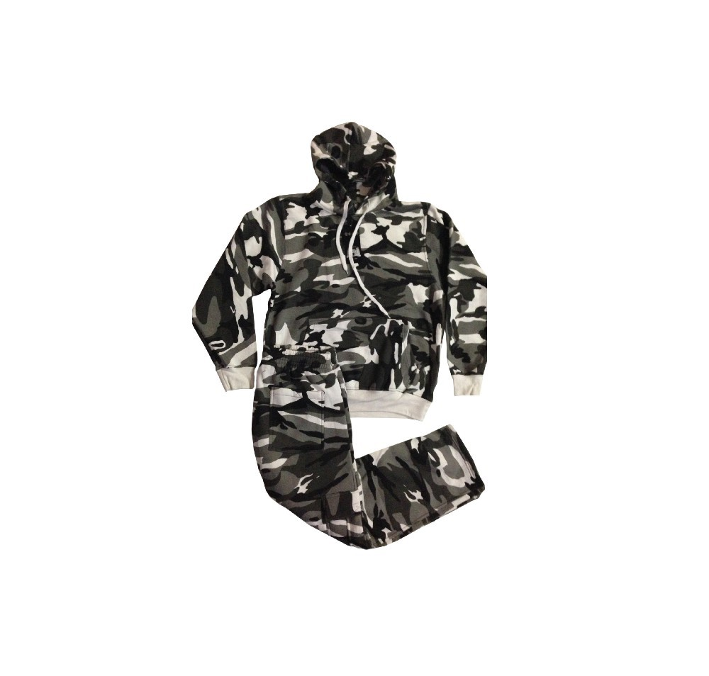 Fleece suit (Camouflage)