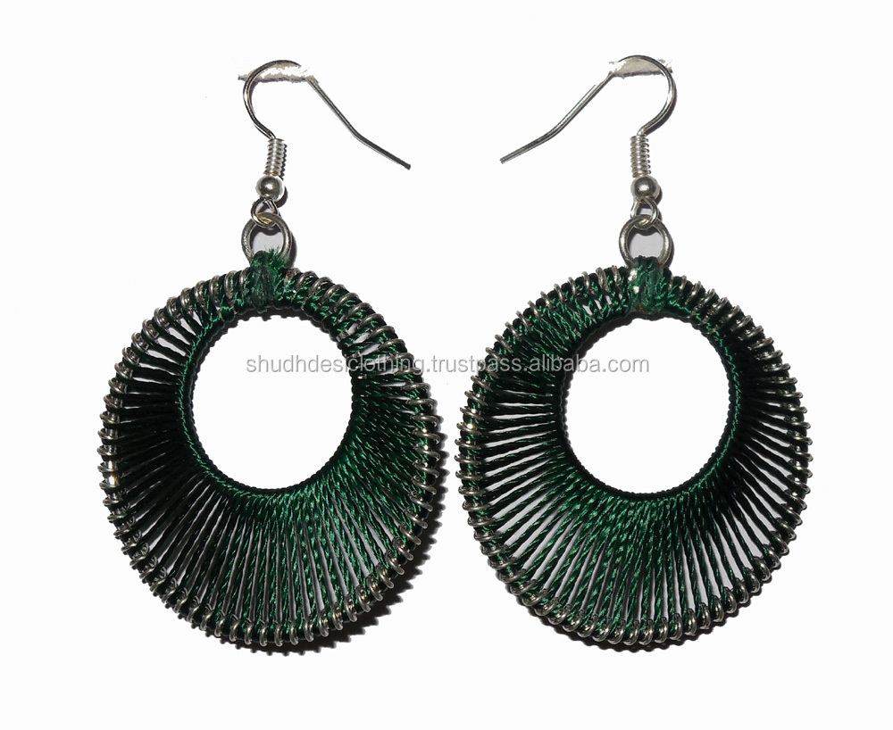Threaded Earring For Women Indian Online Handmade Fashion Silk Thread Earrings Product On Alibaba