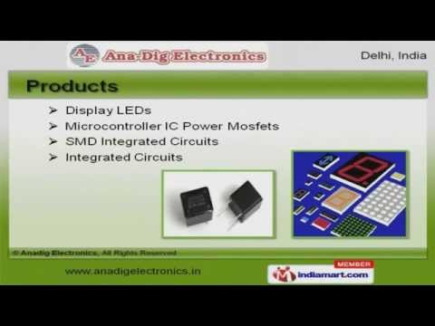 Electronic Components by Anadig Electronics, Delhi