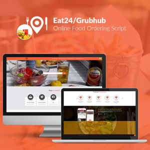 Eat24/Grubhub Clone - Online Food Ordering Script