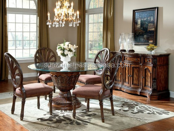 Round Wooden Dining Tableround Shape Wood Carving Dining Tableluxury Round Dining Table Setdining Tables And Chairs Buy Malaysian Wood Dining