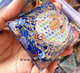Latest Orgone Lapis Lazuli Flower of Life Chakra Pyramid With Charge Crystal Point | Prime Agate Exports | India