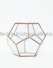 New Products Geometric Style Glass Bottle Terrarium Large Glass