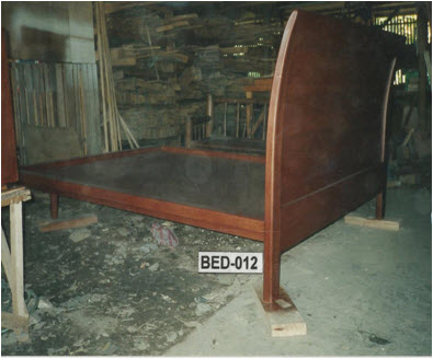 Solid Wooden Bed Selecting Wells
