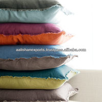 100% cotton yarn dyed cushion covers and chair cushions from India
