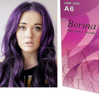 BERINA A6 HAIR COLOR BRAND MADE IN THAILAND