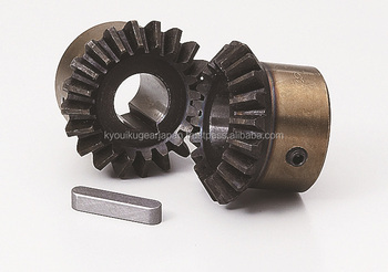 Hardened straight miter gear Module 3.0 Carbon steel Ratio 1 Made in Japan KG STOCK GEARS