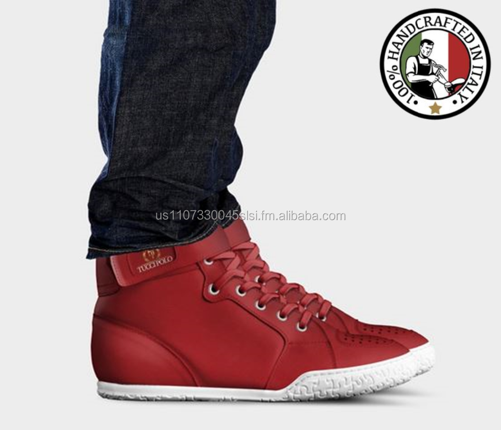 Basketball Tops and TucciPolo High Genuine Casual In Limited Sneakers Shoes Leather Dress Italy Edition Made WqFwnB0Xw