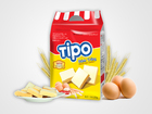 Tipo crème oeufs Biscuits 220 G / Biscuits
