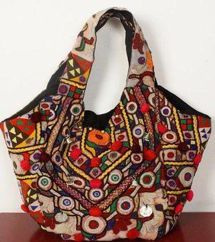 87cccc0fc0 Indian Hand embroidered Vintage shoulder bag purse Banjara Bag Vintage Hobo  Sling Tote Ethnic Tribal Gypsy
