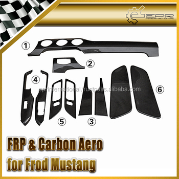 For Ford Mustang Interior Trims 10pcs
