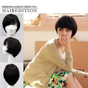 Best Quality 100 Human Hair Wig Korea Full Wig Short Hair Style Made In Korea Buy 100 Human Hair Wigs Wig Human Hair Wig Product On Alibaba Com