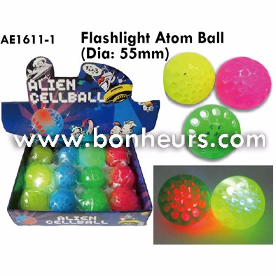 New Novelty Toy Flashlight Atom Ball
