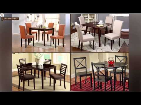 Wooden Street - Buy 4 Seater Dining Table Sets Online | 4 Seater Dining Set