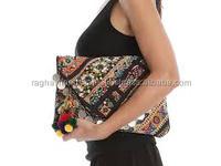 Indian Banjara Handmade Clutch Bag Antique Vintage Banjara Coin Bag Wholesale