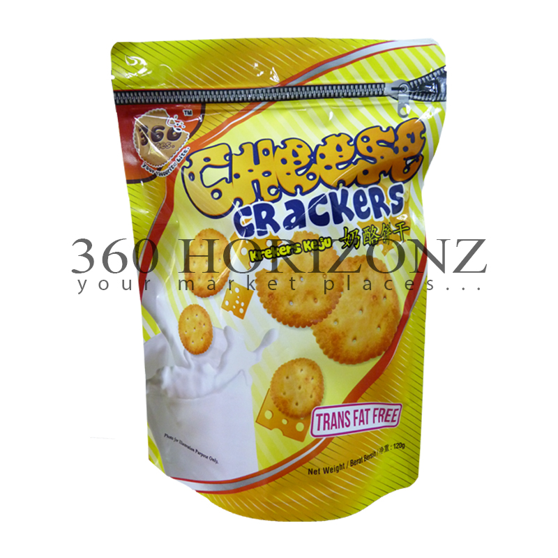 360Bites Cheese Crackers