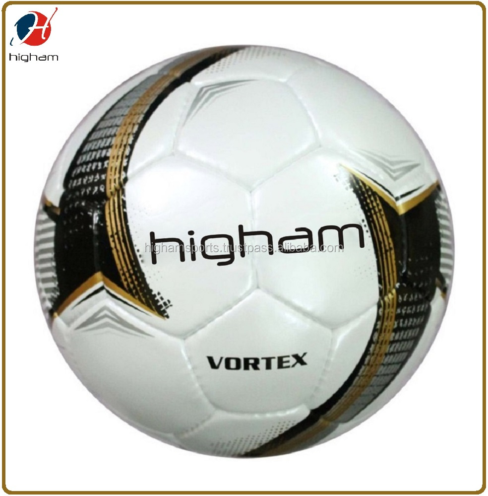 Wholesale Team Professional PU Hand Stitch Soccer Ball, Official Size Weight Training Cheap Football