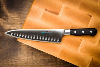 12 Inch Japanese Chef Knife German Steel Kitchen Super Sharp Santoku Rosewood Handle