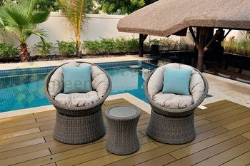Balcony rattan outdoor furniture vietnam wicker for Outdoor furniture vietnam