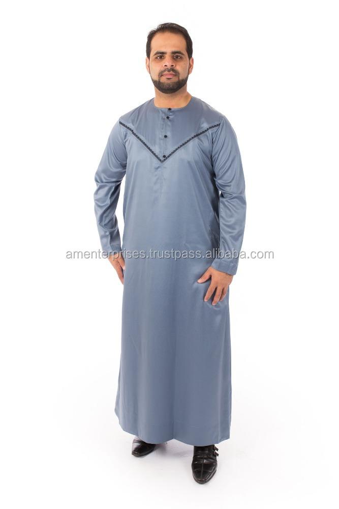 Mens Daffah Thobes - Arabic Thobe For Men Wear