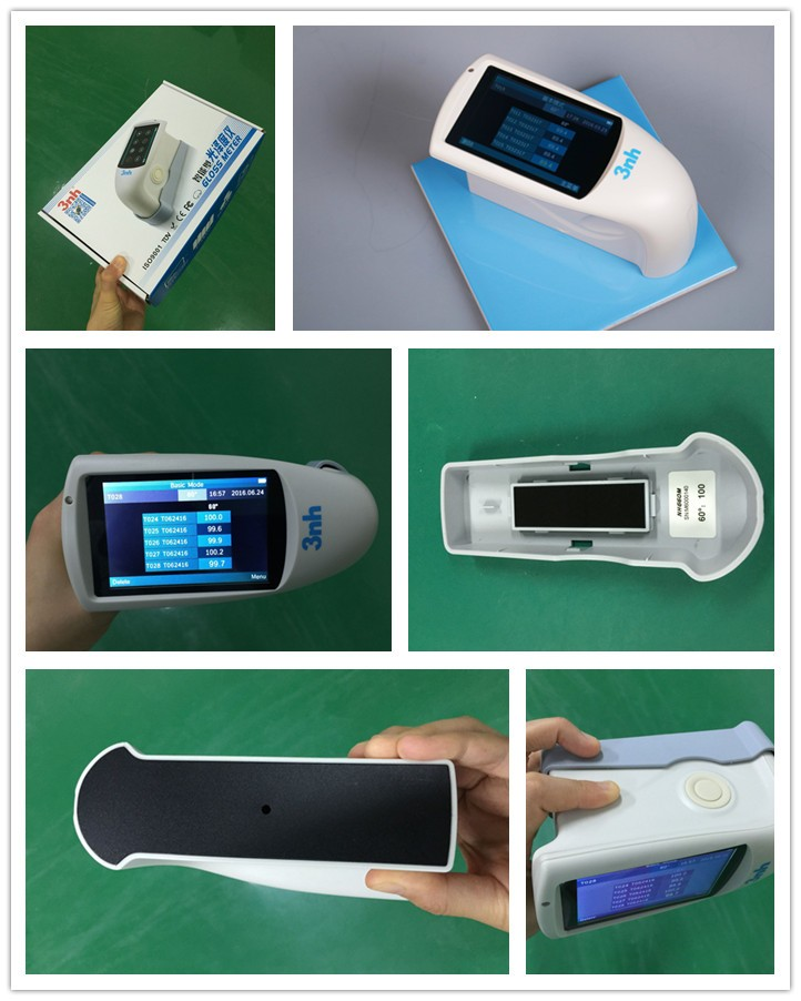 Gloss measurement equipment gloss meter readings 0.1GU 2000 GU NHG268 equal to mg268-f2 glossmeter