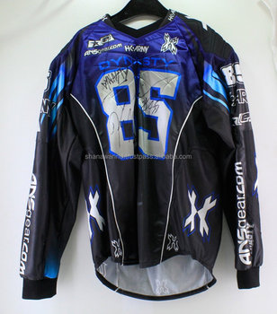 High Quality Custom Paintball Jerseys