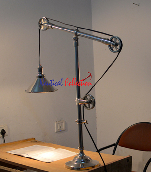 Vintage Look Study Table Lamp/lift Pulley Table/desk Lamp/light,E27 Light  Source/book Lamp/light,Reading Lamp   Buy Modern Table Lamp,Hotel Table ...
