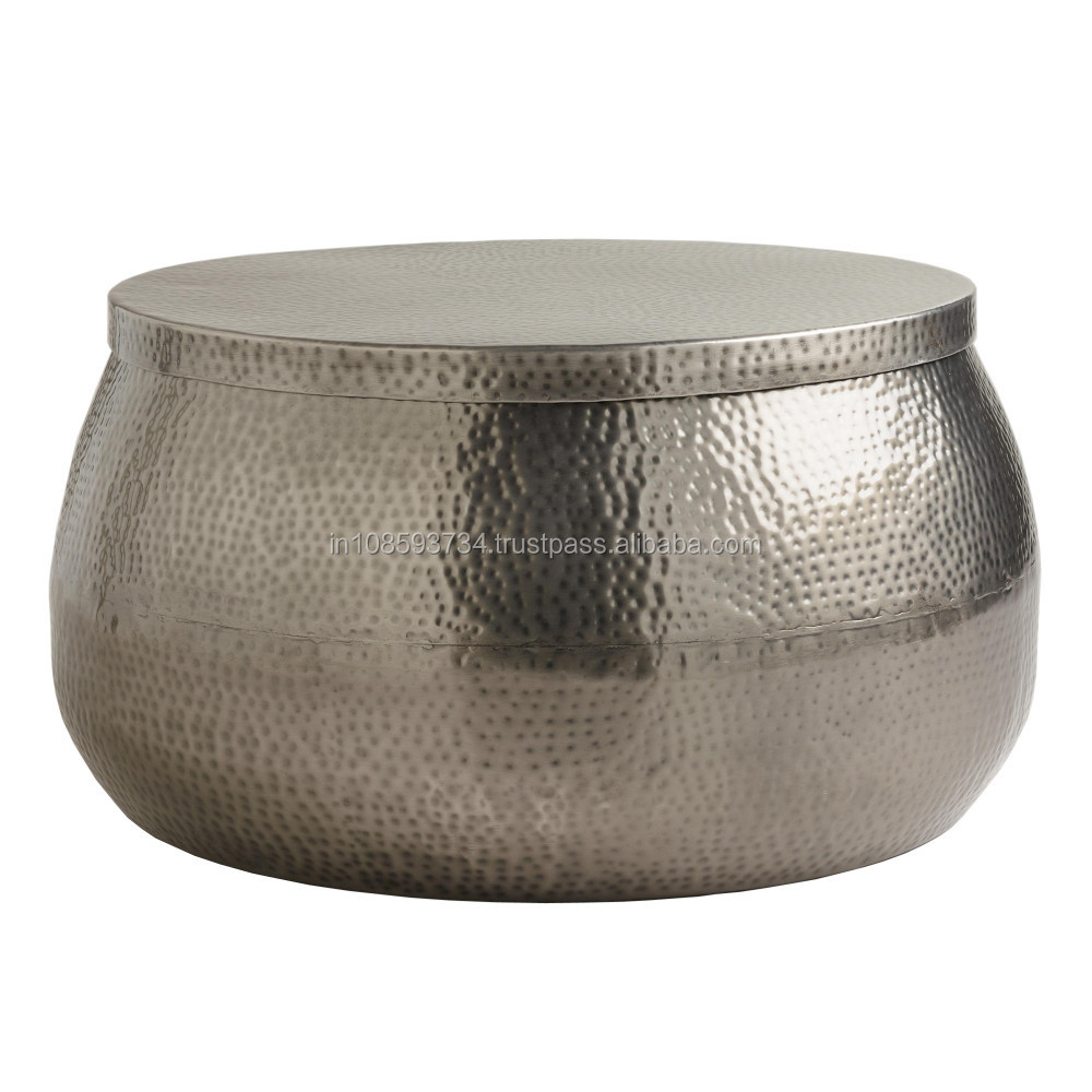 Hammered Aluminum Coffee Table Buy Hammered Coffee Table Product On Alibaba Com