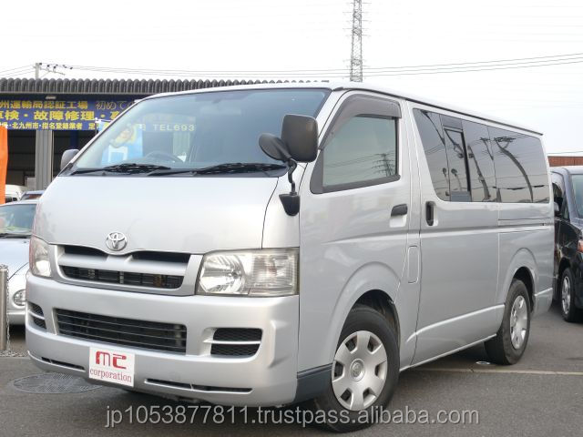 Good looking and Reasonable used vans in japan REGIUS ACE 2005 used car with Good Condition