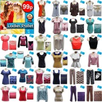LADIES MIXED CLOTHING PALLET / CLEARANCE -LPCLE1