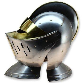 Medieval Barbute Heart Shape Armour Helmet - Barbuta European Warrior  Helmet Rep Medieval Barbute Helmet Amour Roman Knight Tamp - Buy Helmet  Product