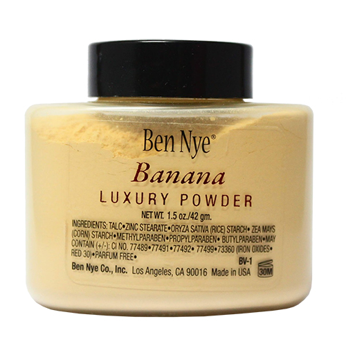Ben Nye Banana Luxury Powder 1.5 oz Bottle Face Makeup Free USA Shipping