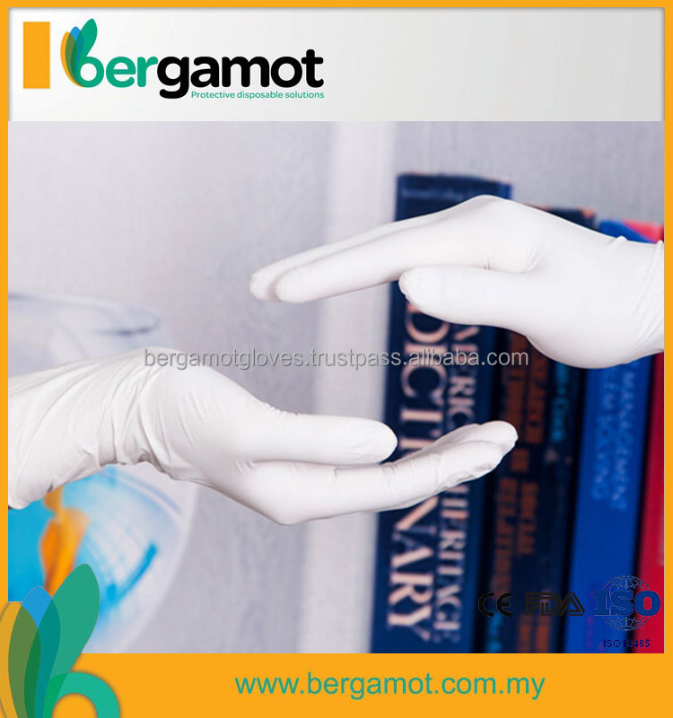 Dental Examination Gloves Latex,Latex Exam Glove Malaysia Manufacturer Medical With Design