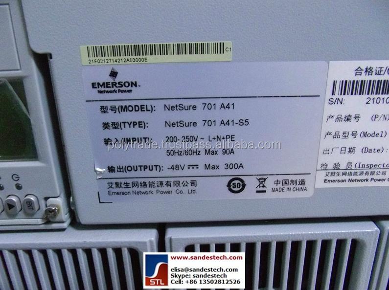 Emerson Netsure701 A41-s5 Netsure 701 Dc Power Emerson M222s M221s ...