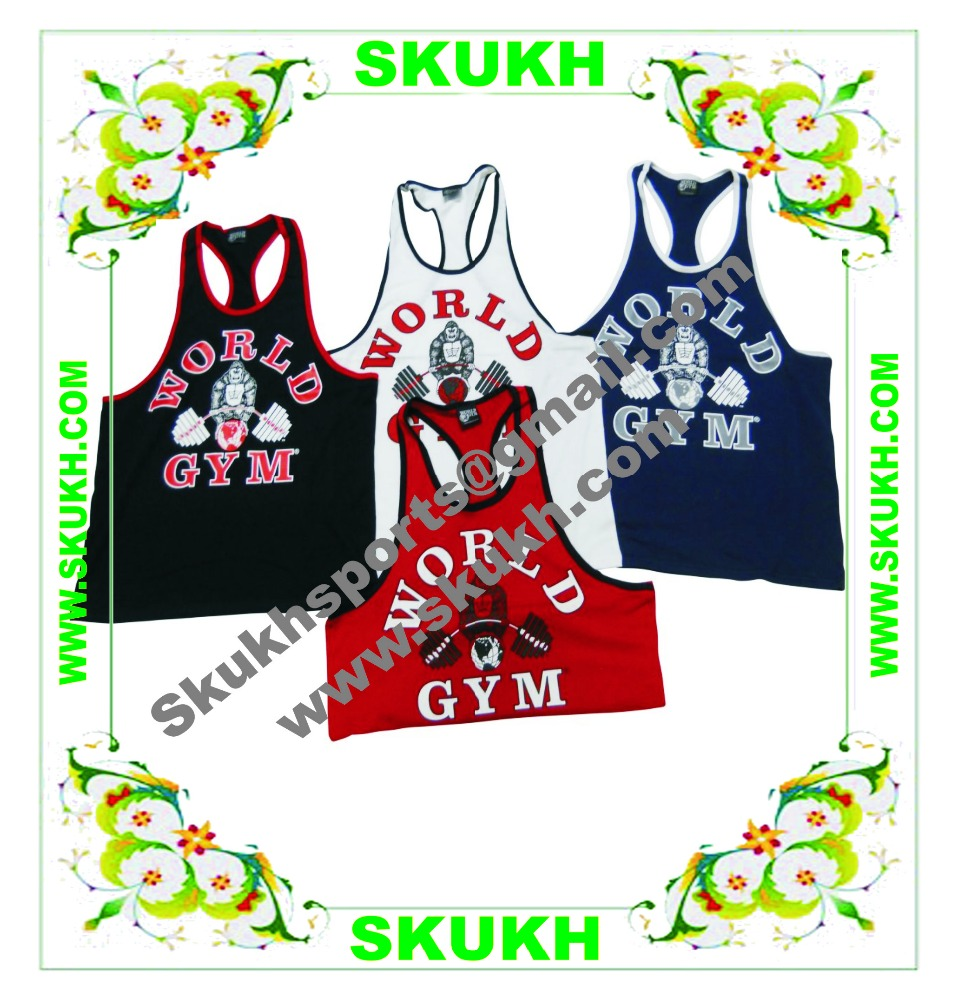 Top quality hot sell gold's gym tank tops,Women Rib Sweat Tennis Tank Top Sublimation Tank Top
