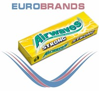 Airwaves Strong Lemon Multipack Chewing Gum.
