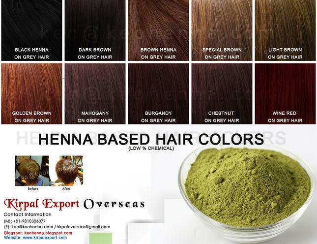 Henna Berbasis Warna Rambut Persentase Rendah Kimia Buy Henna