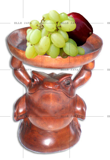 Home Decoration Wooden Fruit bowl