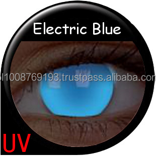 0c011db7d Colourvue Crazy Glow Uv Lenses Glow Electric Blue 2pk Maxvue Vision ...
