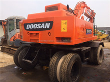 Used Doosan Daewoo 130 Wheel excavator, used Daewoo 130 /140 wheel excavator for sale
