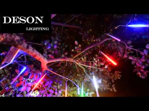 led meteor rain light christmas lights for outdoor garden tree streep decoration