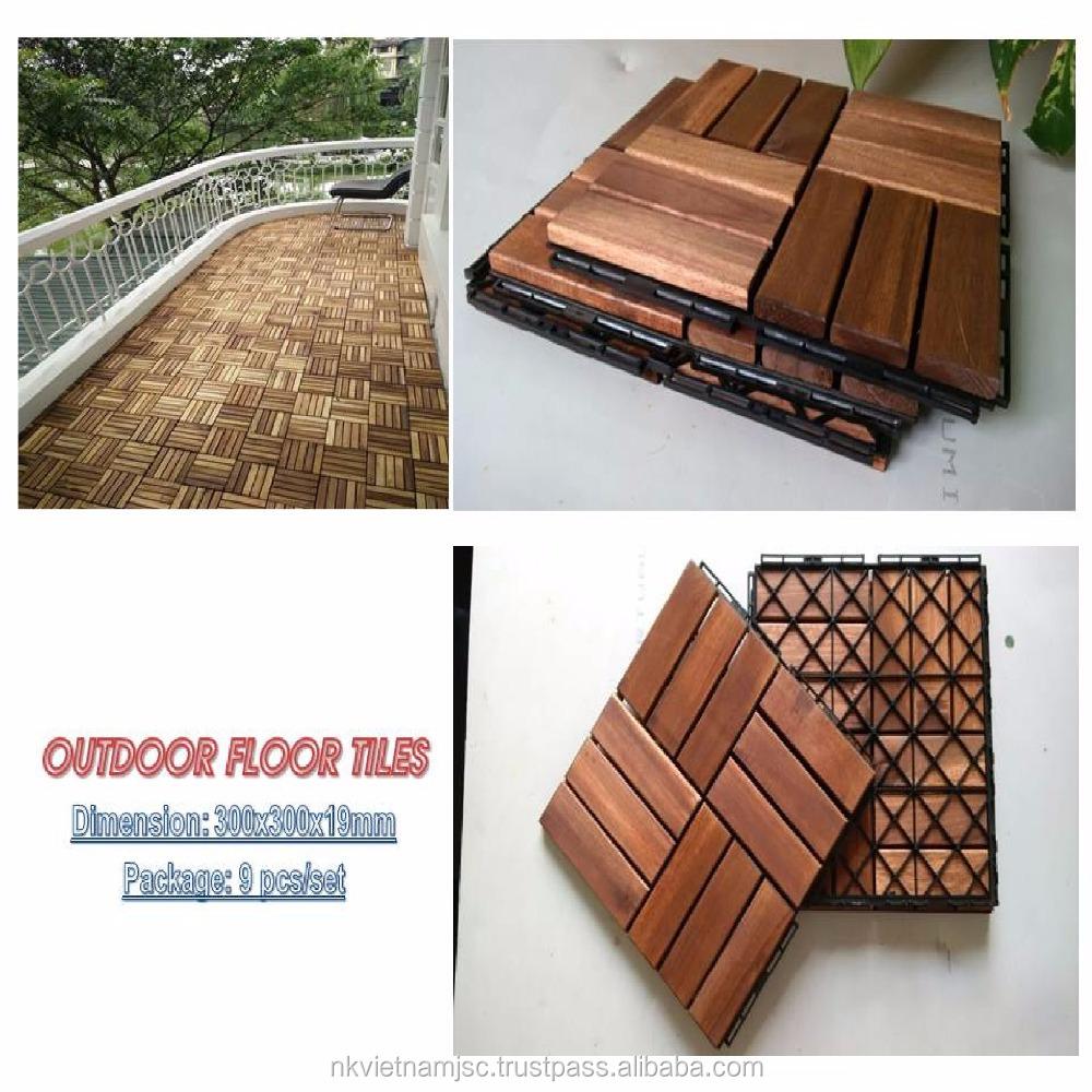 Vloertegels  Hout Vloer 300x300mm voor Balkon  tuin  zwembad op advance technische tegels product