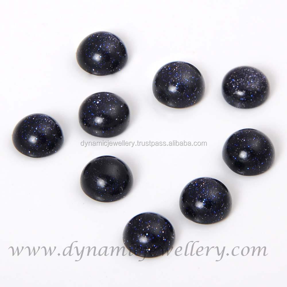 Whole Blue Sunstone 8 Mm Round Shape Gemstone